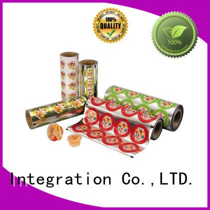 Kolysen custom food packaging film directly price used in electronics market