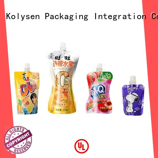 Kolysen stand up pouch bags wholesale online shopping for wrapping honey