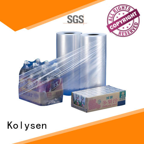 Kolysen odm shrink film wholesale products to sell for Pre-forms and full body sleeve labels