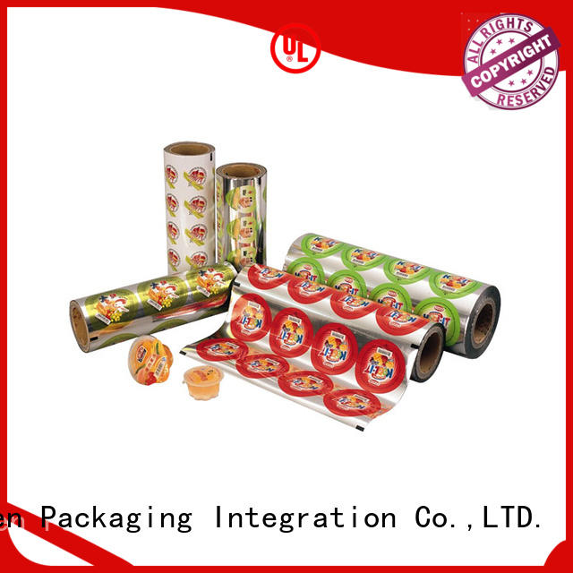 Custom standup pouch for business used in food and beverage