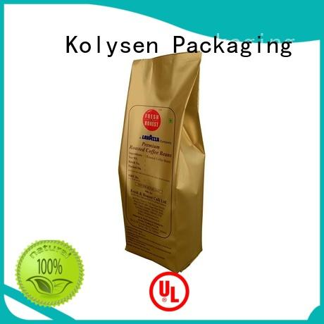 Kolysen convenient use popcorn paper bag directly price for wrapping yoghurt