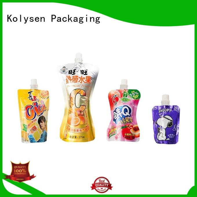 Kolysen convenient use microwave popcorn paper bag directly price for wrapping sauce