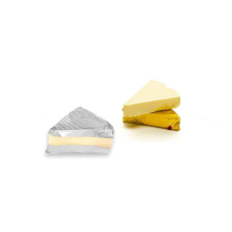 Heat Sealable Aluminum Foil for Triangle Cheese Block