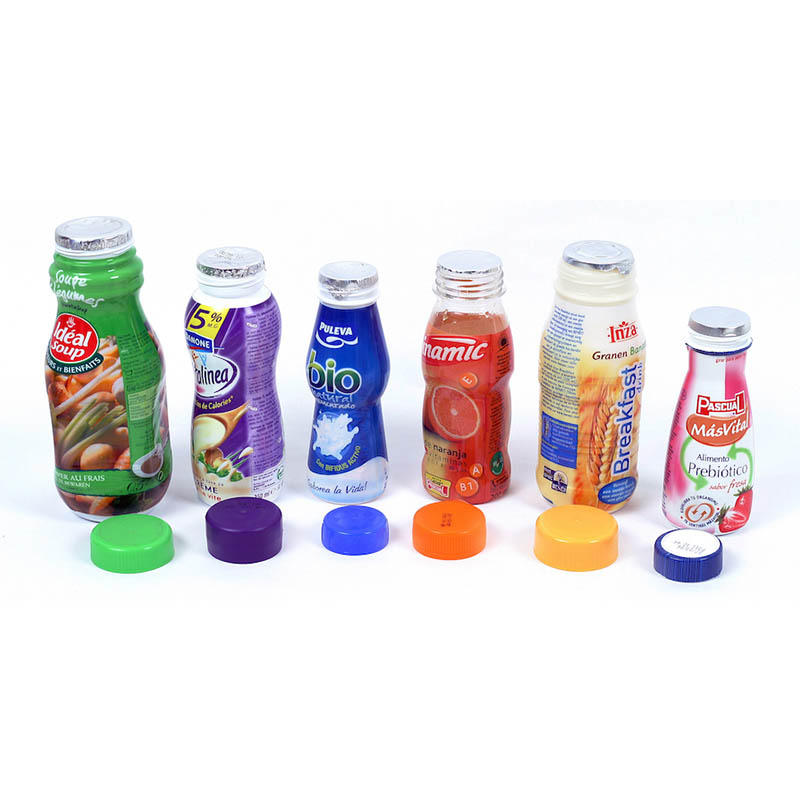 Printed Lidding Foil with Embossing for Yogurt Cup