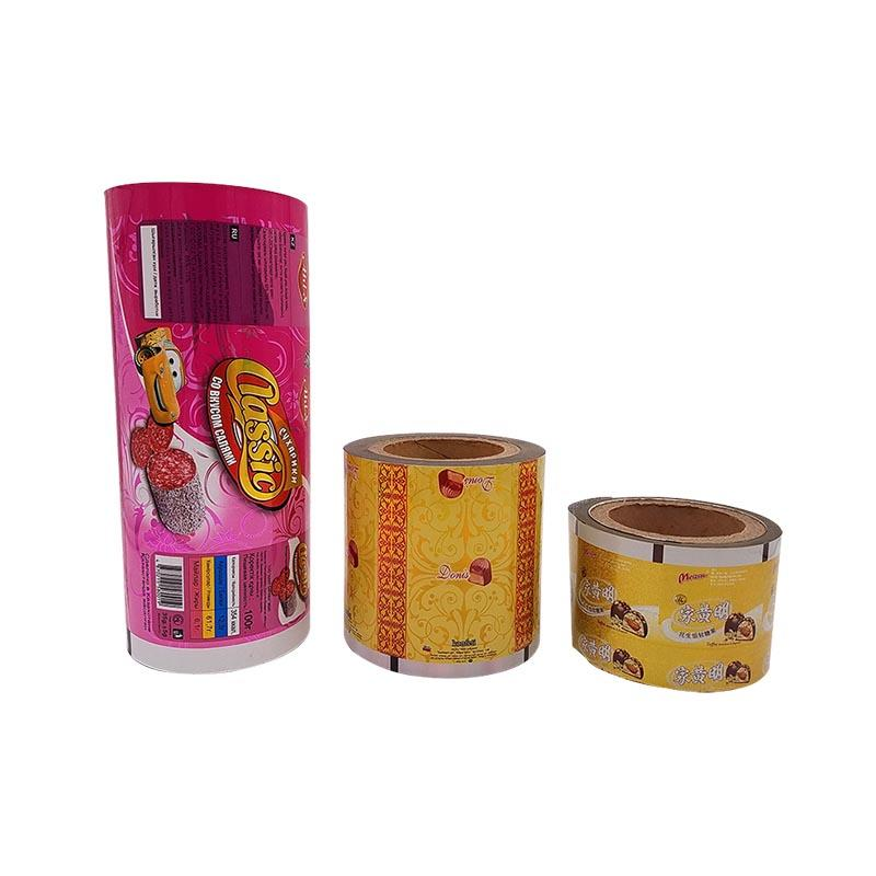 High Barrier Laminated Film Roll Stock