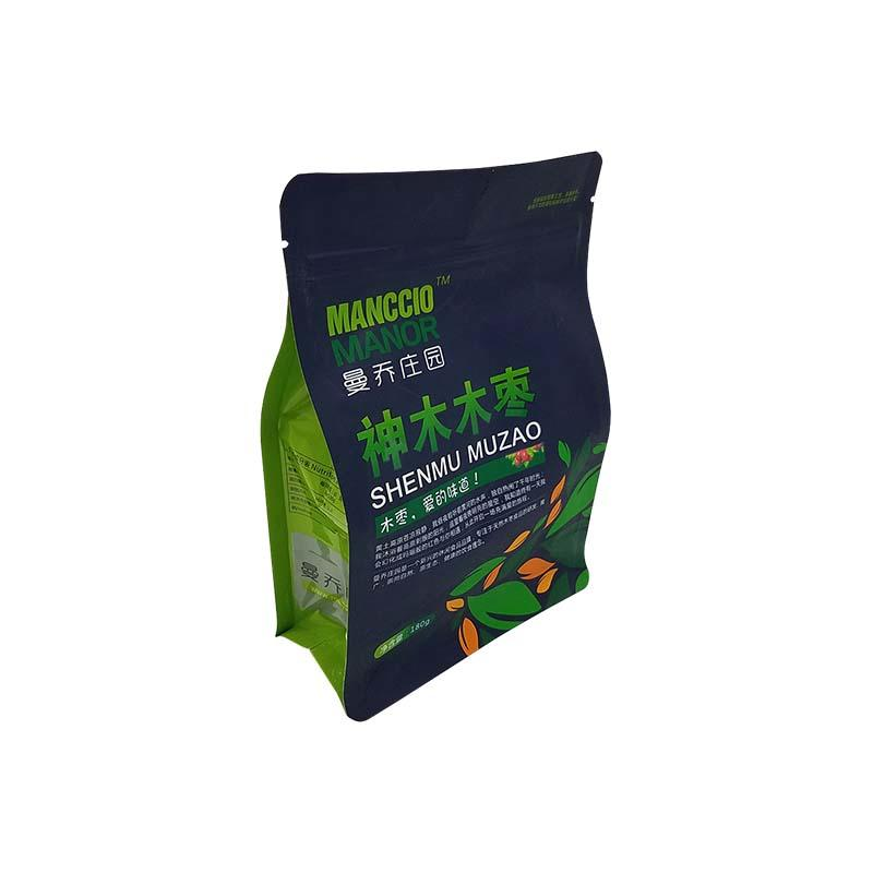 Food Grade Standup Pouch with Zipper and Matte Surface