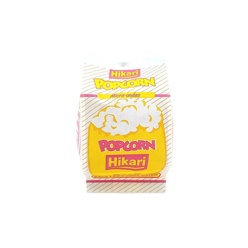 Greaseproof Microwave Popcorn Bag with Side Gusset