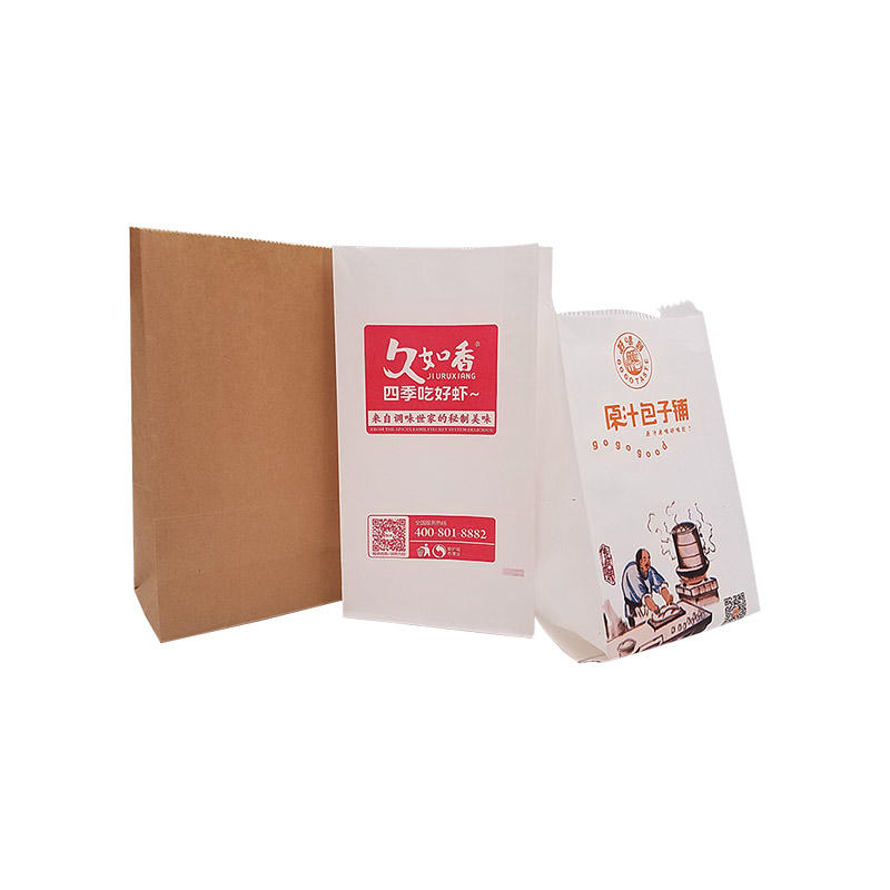Custom Printed Greaseproof Paper Bag for Deli Food Wrapping