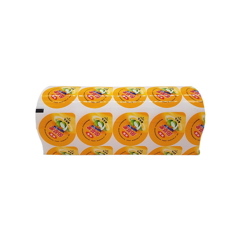 Printed Lidding Film Roll for Plastic Cup