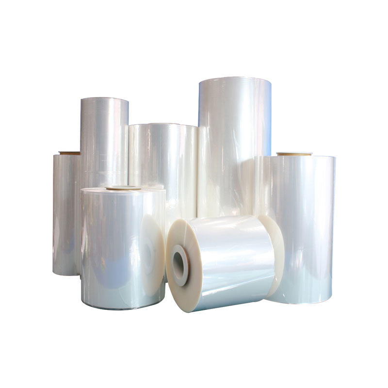High Clear PETG Shrink Film with Low Shrink Force and Antistatic Coated One Side
