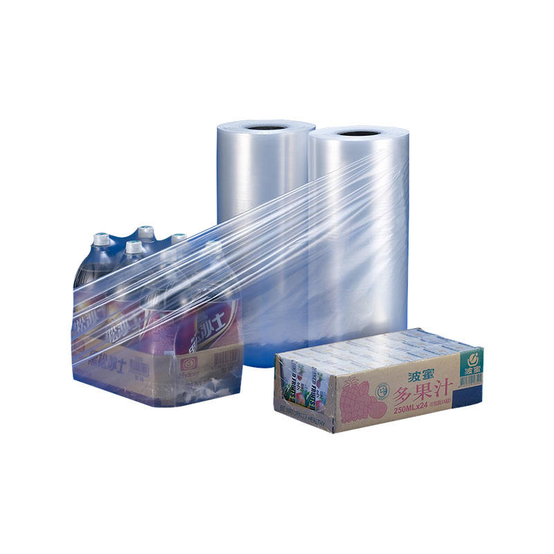 pvc shrink film & flat bottom bag