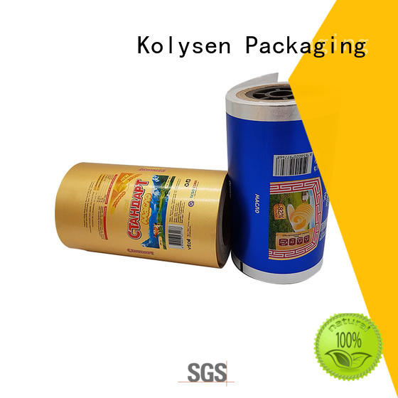 Kolysen wholesale aluminium paper manufacturer for wrapping chewing gum