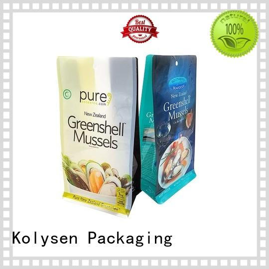Kolysen spout pouch packaging for business used in chemical market