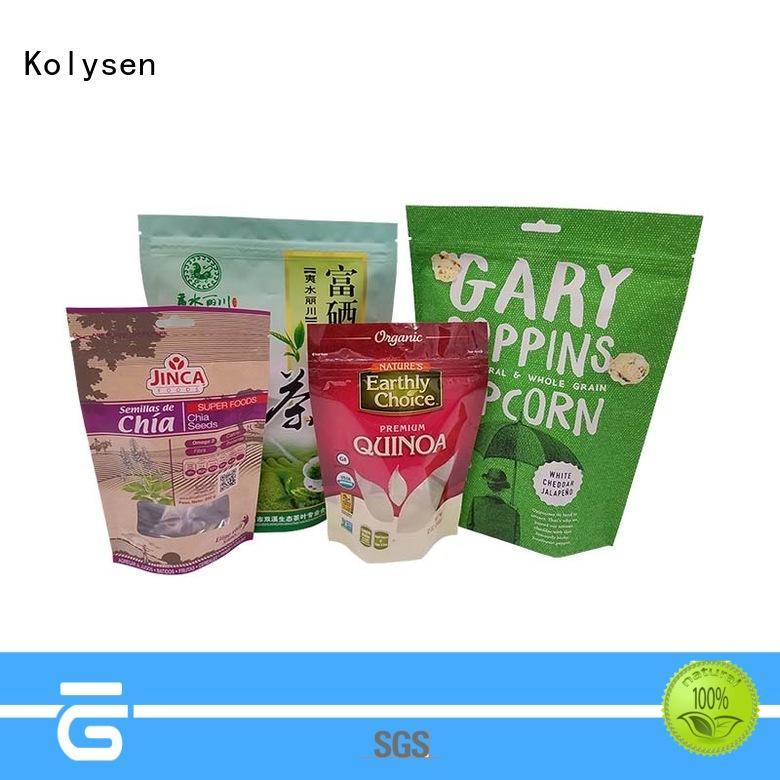 Kolysen Custom microwave popcorn bag manufacturers used in electronics market