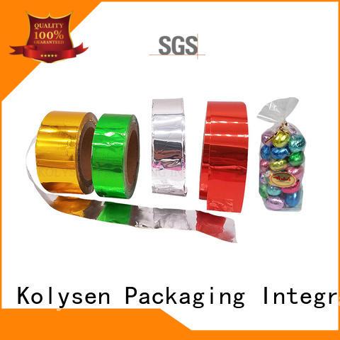 Kolysen pure aluminum foil paper china products online pharmaceutical bottle neck