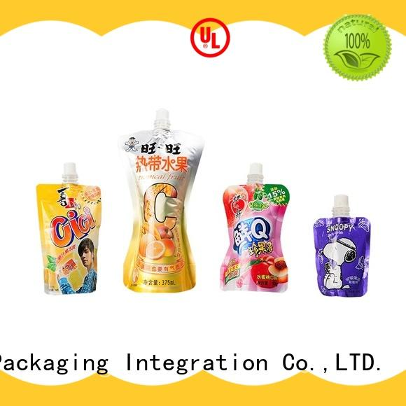 Kolysen custom fruit pouches directly price for wrapping soft drink