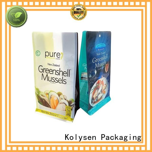 Kolysen standup doypack packaging buy products from china for wrapping honey