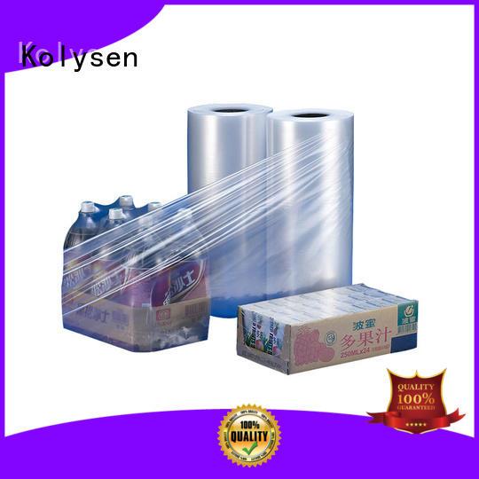 Kolysen pet shrink film Supply for food packaging