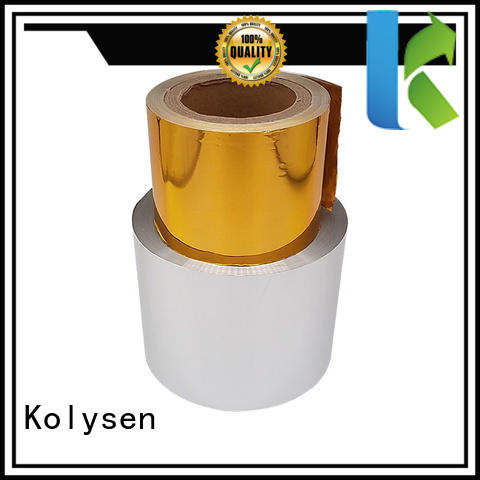 Kolysen chocolate bar foil company for wrapping ice cream