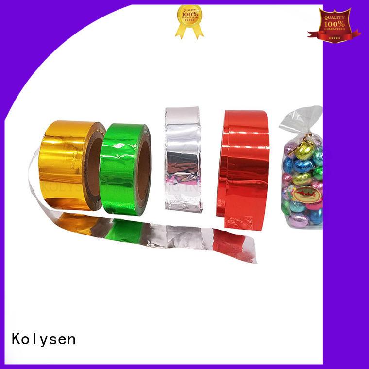 Kolysen environmental aluminium paper wholesale products for sale pharmaceutical bottle neck