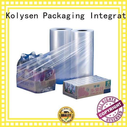 Kolysen pvc shrink film online wholesale market for tamper evident seals