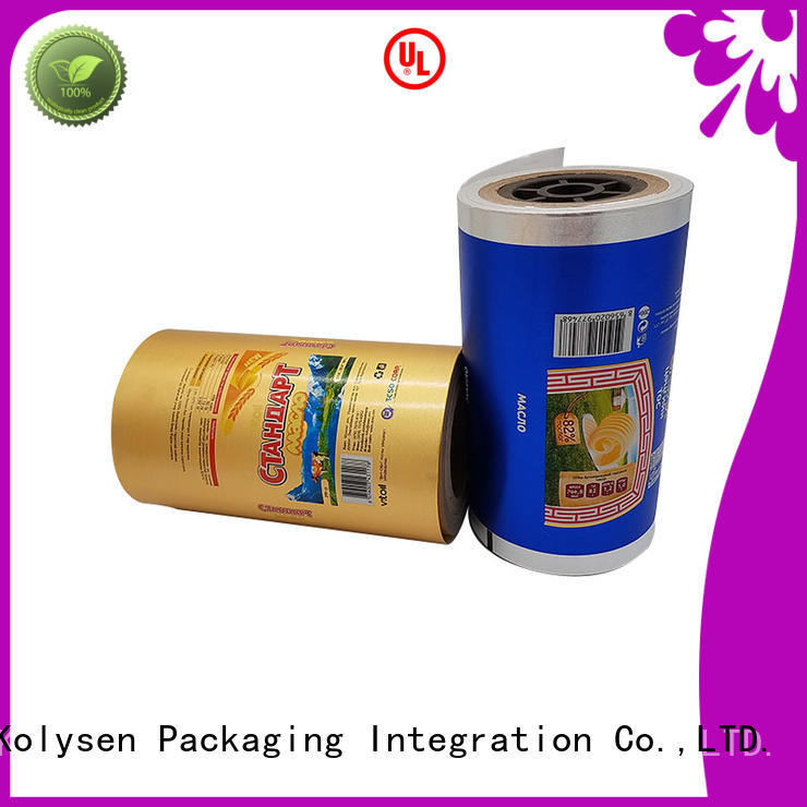 Kolysen wholesale gold foil paper manufacturer for wrapping chocolate