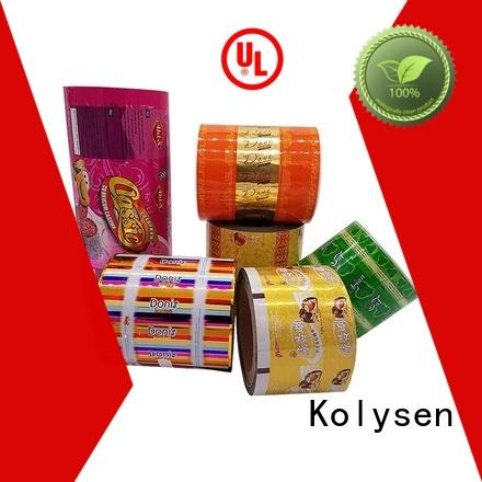 Kolysen snack bags directly price for wrapping beverage