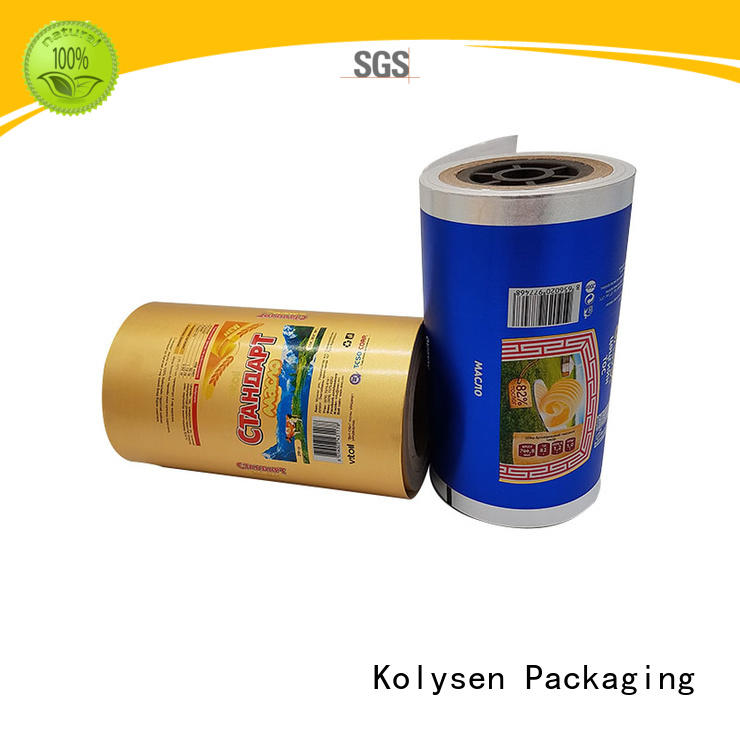 Kolysen convenient gold aluminum foil wholesale products for sale for wrapping butter/margarine