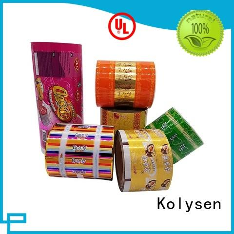 Kolysen burger bag manufacturers for wrapping yoghurt