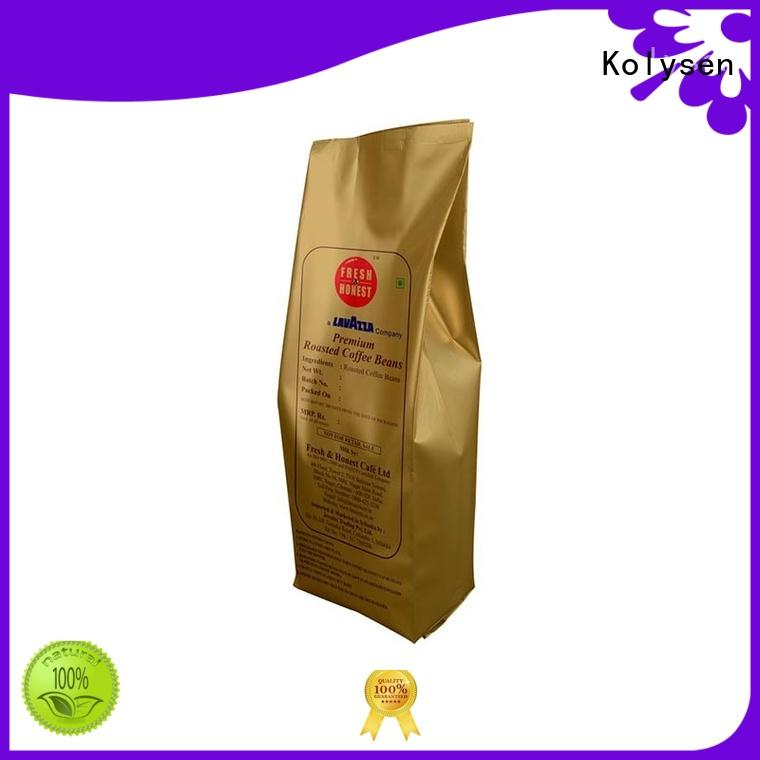 Kolysen food pouch wholesale online shopping used in food and beverage