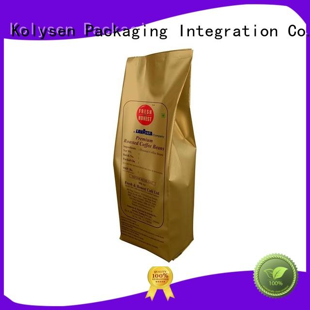 Kolysen custom food pouch directly price for wrapping fruit juice