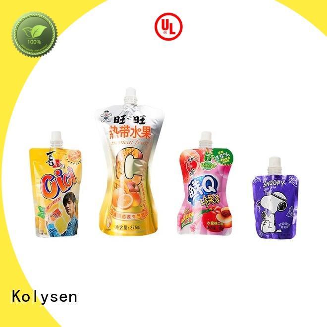 Kolysen standup food bag sealer wholesale online shopping for wrapping beverage