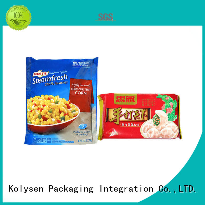 Kolysen food packaging film directly price for wrapping beverage