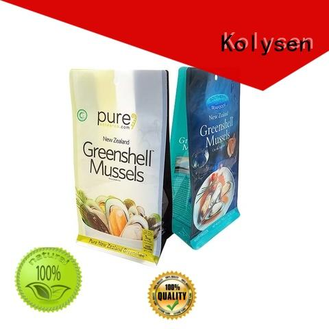 Kolysen standup doypack packaging directly price for wrapping sauce