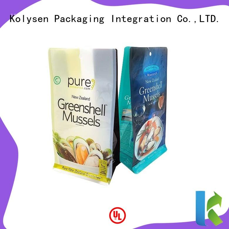 Kolysen food sealer bags directly price for wrapping sauce