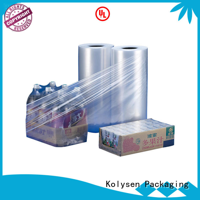Kolysen pvc shrink film wholesale products to sell for Pre-forms and full body sleeve labels