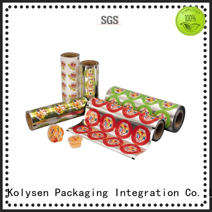 new design food sealer bags directly price for wrapping beverage