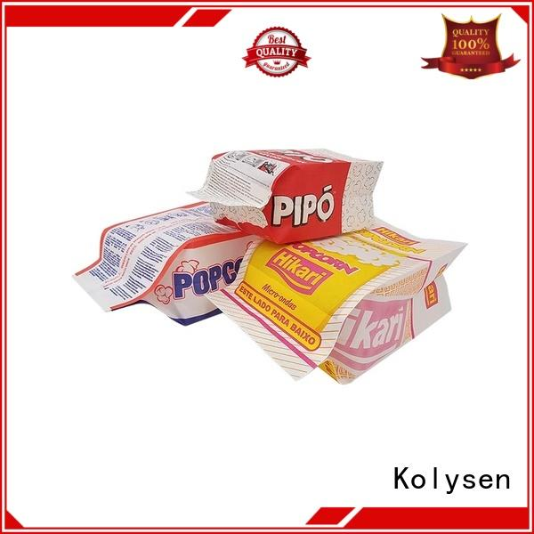 new design food packaging bag directly price for wrapping soft drink