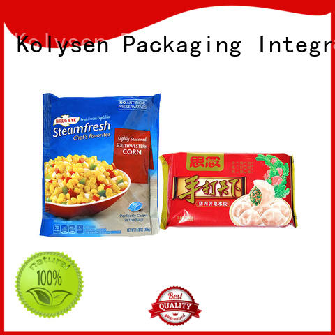 Kolysen food pouch factory used in pharmaceutical market