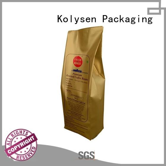 Kolysen new design plastic packaging bags for food wholesale online shopping for wrapping yoghurt