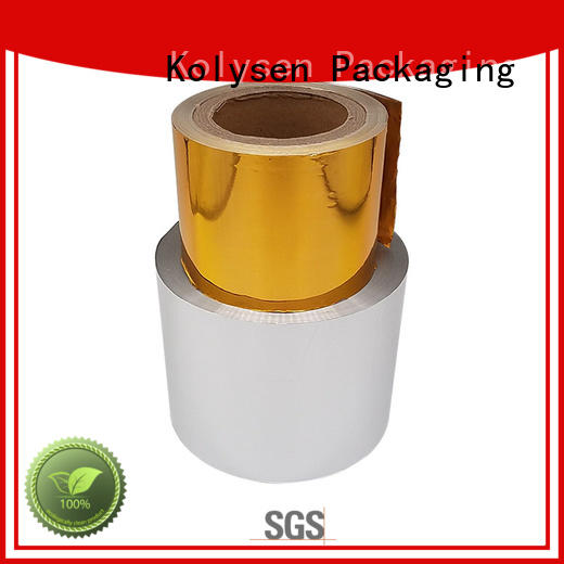 Kolysen aluminium paper china products online for wrapping chewing gum