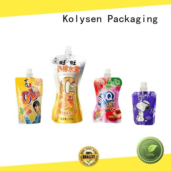 new design food sealer bags directly price for wrapping honey
