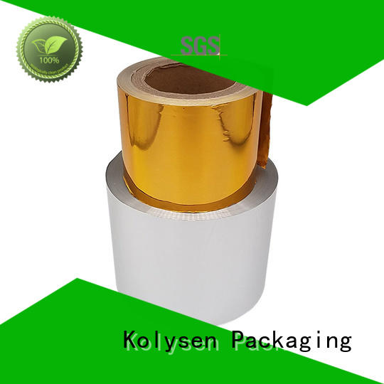 gold aluminum foil china products online for wrapping cheese Kolysen