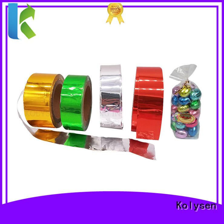 Kolysen environmental butter foil wrap for pharmaceutical