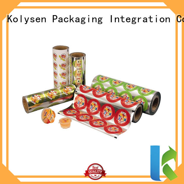Kolysen food sealer bags directly price used in food and beverage