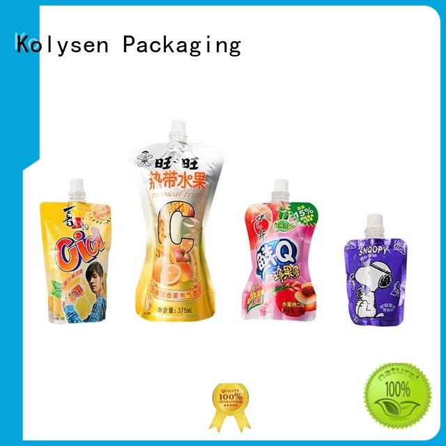 Kolysen New frozen food packaging buy products from china for wrapping beverage