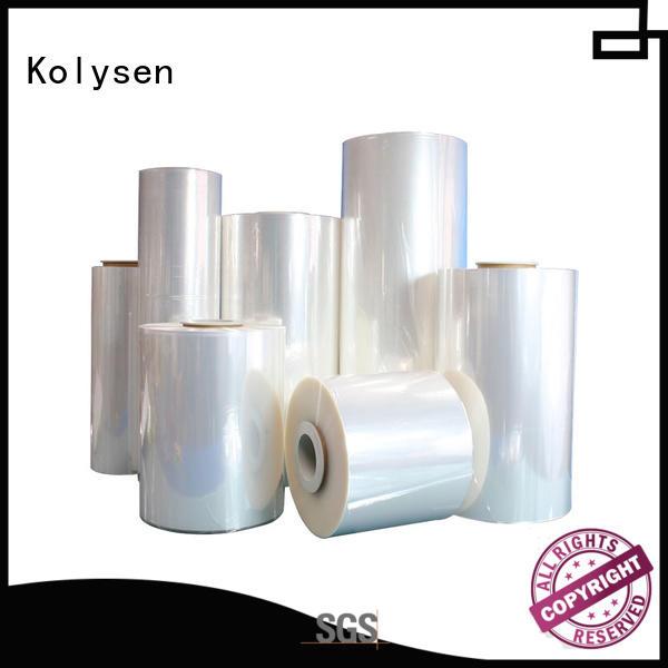Kolysen oem shrink wrap film online wholesale market for tamper evident seals