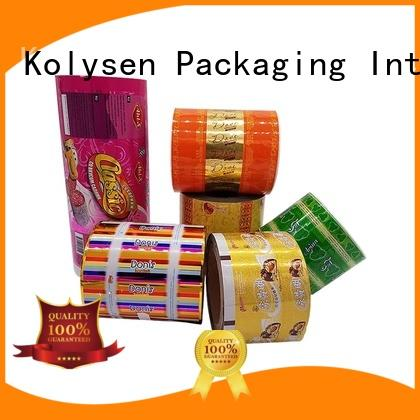 Kolysen standup cookie packaging wholesale online shopping for wrapping yoghurt