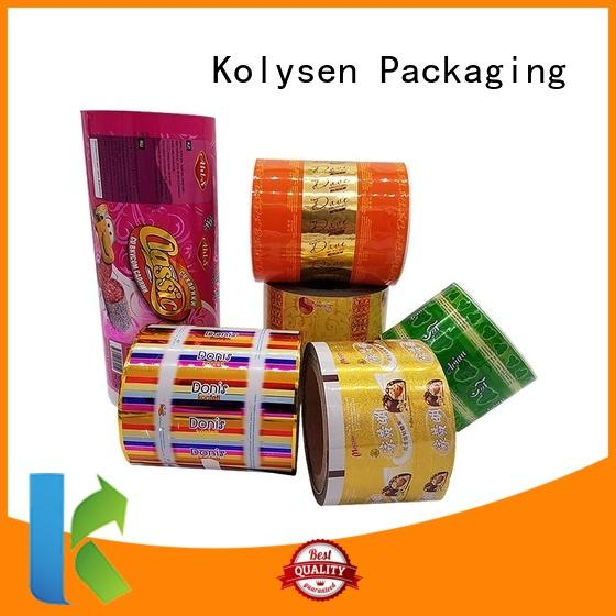 Kolysen cookie packaging wholesale online shopping for wrapping yoghurt
