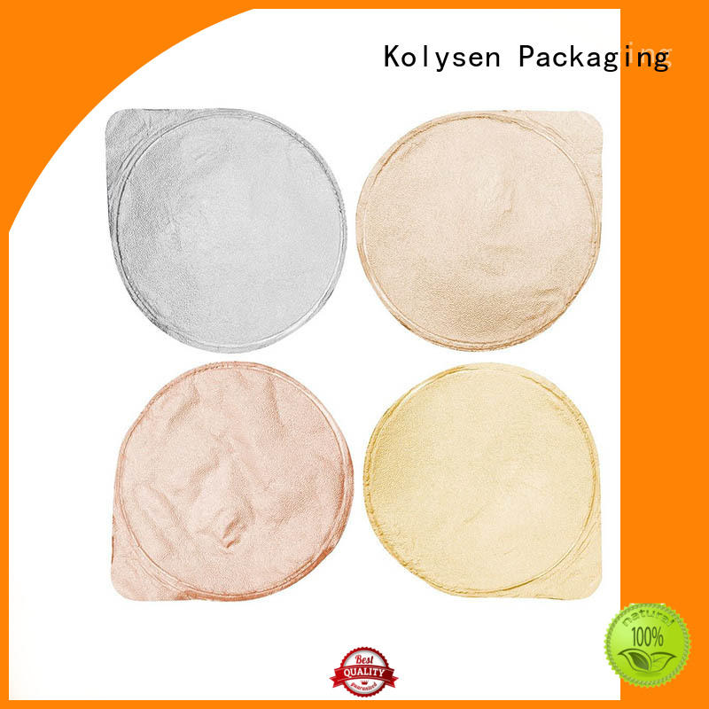 Kolysen customize foil paper for food packaging Suppliers for wrapping ice cream